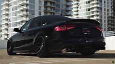 audi s4 armytrix audi s4 with armytrix exhaust system and stance wheels damnedwerk
