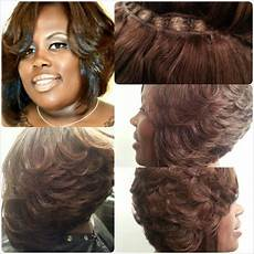 feathered bob hairstyle african american surat mia