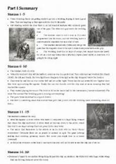 english worksheets coleridge 180 s quot the rime of the ancient mariner quot a summary of par i and part vii