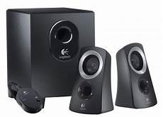 audio system subwoofer get a logitech 2 1 channel speaker system for 24 99 cnet