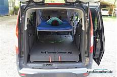 schlafen im ford tourneo connect lang ii yoc since 2013
