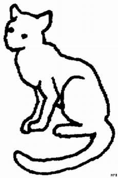 Malvorlage Sitzende Katze Katze Sitzend Ausmalbild Malvorlage Tiere