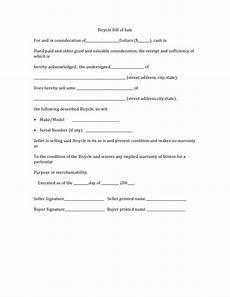 10 bike bill of sale based resume