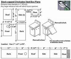 chickadee bird house plans google image result for http www coveside biz plans