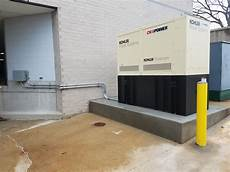 Commercial Power Generator Installation Standy