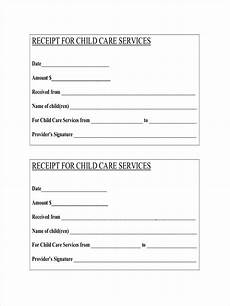 daycare receipt template canada free 9 daycare receipt exles sles in pdf doc