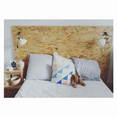 tete de lit osb t 234 te de lit fabriqu 233 e avec deux panneaux osb pour trois