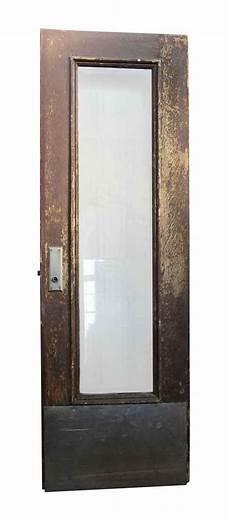 Door With by Wooden Door With Narrow Glass Panel Olde Things