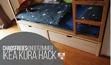 Chaosfreies Kinder Und Jugendzimmer Ikea Kura Hack