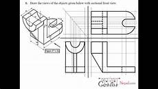 Engineering Drawing Tutorials Sectional And Auxiliairy