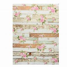 5x7ft Pink Wall Wooden Floor Photo by 5x7ft Vintage Pink Flowers Wooden Floor Wall Photo Studio