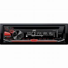 jvc 1 din car stereo cd player receiver with aux in
