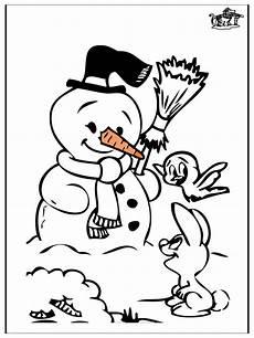 Window Color Malvorlagen Winter Kleurplaat Sneeuwman Winter Malvorlagen Schneemann