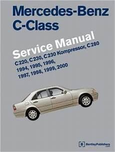 free auto repair manuals 1999 mercedes benz c class engine control mercedes benz c class w202 service manual c220 c230 c230 kompressor c280 1994 1995 1996