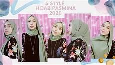 5 Tutorial Pashmina 2020 Simple Untuk Sehari Hari