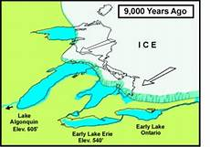 how the area was formed the great lakes and st lawrence lowlands