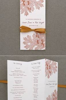 59 best diy wedding programs images pinterest