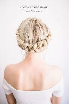 diy modern boho wedding hairstyles the blondielocks