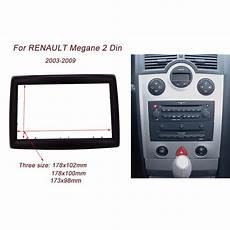 high quality 2din car radio fascia for renault megane ii