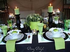 black white lime green tablescape limes dining and tablescapes