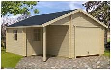 Garage Nevis B En Bois 44 Mm Montage Facile Piscine