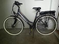 Elektro Fahrrad Damen - alu rex damen trekking elektrofahrrad 28 in