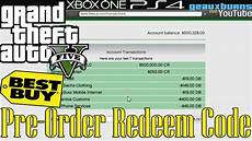 Gta V Best Buy Pre Order Redeem Code Ps4 Xbox One