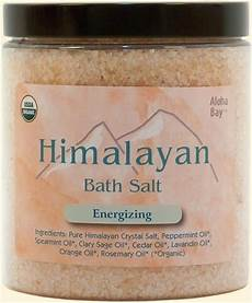 Himalaya Salz Inhaltsstoffe - organic himalayan bath salts products aloha bay