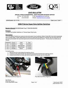 electronic toll collection 2007 ford f series super duty head up display 2008 f series super duty upfitter switches