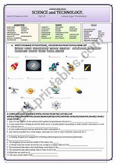 science technology worksheet 12409 science and technology esl worksheet by younous