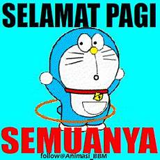 Animasi Dpbbm Picture Doraemon Ucapan Selamat Pagi Dunia