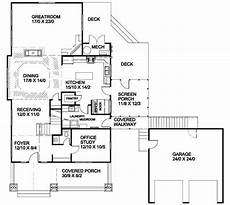 red cottage house plans energy efficient red bungalow 16702rh floor plan main