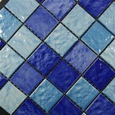 Piscine Carreaux Bleu Mosa 239 Que En C 233 Ramique Et Pas Cher