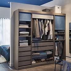 aménagement de placard pas cher dressing ch 234 ne cendr 233 200 cm perkin en 2019 meubles pas