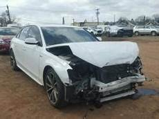 salvage audi s4 cars for sale and auction