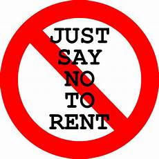 rent to own no credit check no down payment just say no to rent rent debt motivation inspiration financialplanning just say no