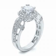 diamond halo and cross engagement ring vanna k 100667