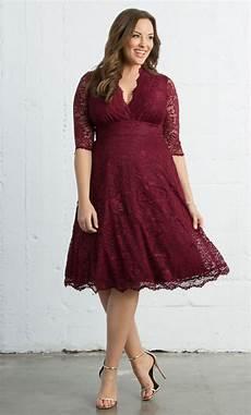 plus size kleider mademoiselle lace dress plus size a line midi dress