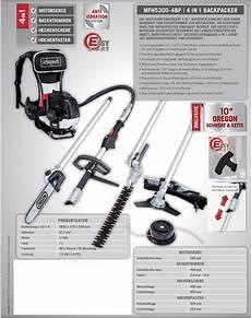 scheppach mfh5300 4bp benzin multifunktionsger 228 t 4in1 backpack