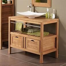 meuble sous vasque salle de bain meuble sous vasque avec plan 2 tiroirs salle de bain