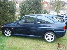 how petrol cars work 1995 ford escort security system ford escort rs cosworth 4x4 lux 1995 petrol blue small turbo classic car