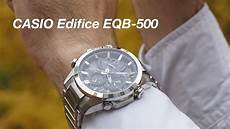 обзор casio edifice eqb 500