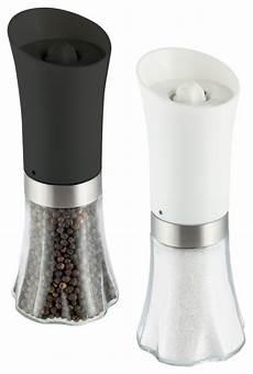 elektrischer salz und pfefferstreuer deluxe electric salt and pepper mill set contemporary