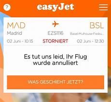 Easyjet Flug Stornieren - easyjet flug gestrichen was erkunde die welt