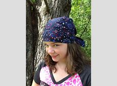 Doo rag biker hat skull cap bandana head wrap by