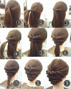 updo hairstyles for long hair unique easy hairstyles long
