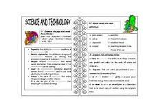 science technology worksheet 12409 science and technology worksheet by fatta