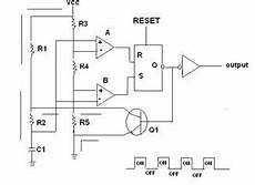 555 Timer Ic As A Stable Multivibrator