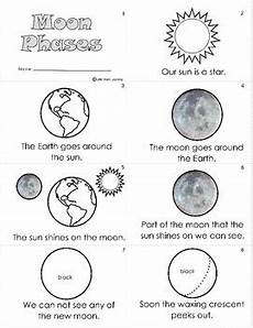 the earth moon and sun worksheets 14414 moon phases worksheet mini book by learning tpt
