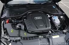 Audi A6 Motorinnenraum Wo Ist Der Luftmassenmesser Beim